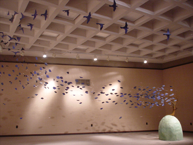 Scatter, McKinney Gallery, West Chester University, West Chester, PA